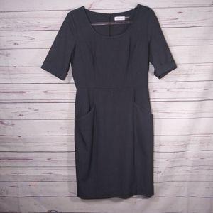 Calvin Klein Professional Midi Dress sz 8